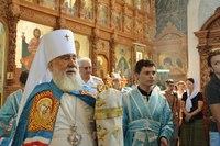 Архиерейское служение в день памяти великомученика Пантелеймона