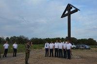 В поселке Кирпичный завод установили поклонный крест