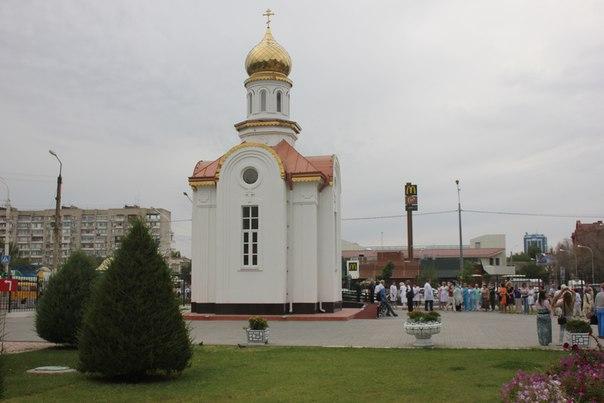 В Астрахани открыта часовня целителя Пантелеимона