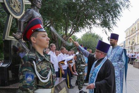 В Астрахани открыт памятник казакам – защитникам Отечества