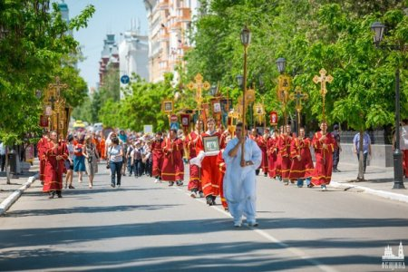 В Астрахани состоится общегородской крестный ход