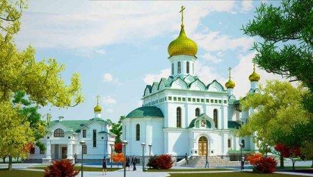 Крестный ход в день памяти Преподобного Сергия
