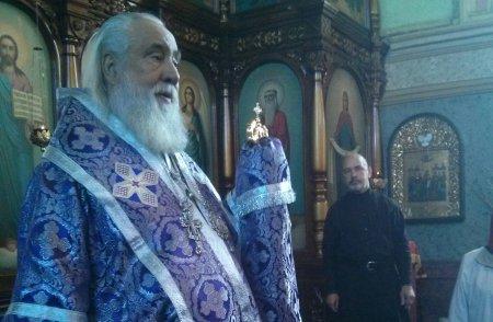 Архиерейская литургия в Иоанно-Предтеченском монастыре