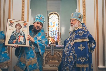 Литургия в годовщину архиерейской хиротонии владыки Ионы