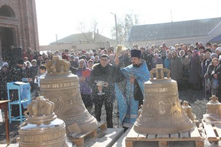 В поселке Лиман строится храм Казанской иконы Божьей Матери