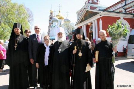 Митрополит Астраханский Иона совершил заупокойную литию по Вере Жилкиной
