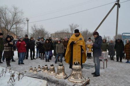 На приходе Святителя Николая в  посёлке Волго-Каспийский совершили чин освящения колоколов