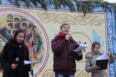 Молодёжь епархии отметила праздник Рождества