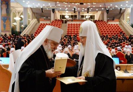 Митрополит Иона удостоен памятной Патриаршей награды в связи с 50-летием служения в священном сане