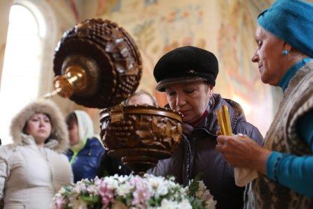 В Астраханской епархии пребывают мощи святой Матроны Московской