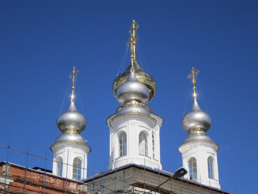 Архиерейское служение в Воскресенском кафедральном соборе г. Шуя