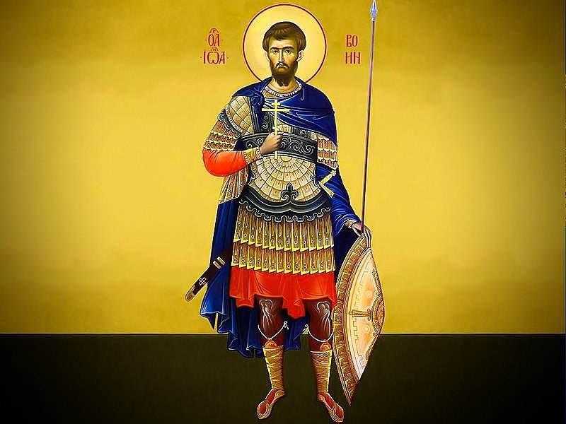 Архиерейское богослужение в день памяти святого мученика Иоанна воина