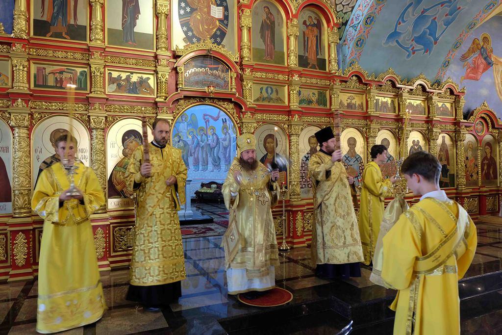 Молебен с акафистом священномученику Иосифу