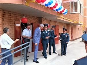 Священнослужители освятили квартиры для военнослужащих