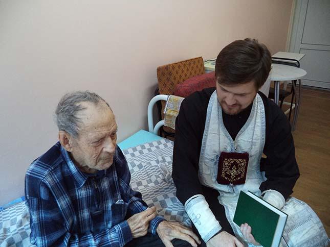 Посещение отделения сестринского ухода в районе АЦКК