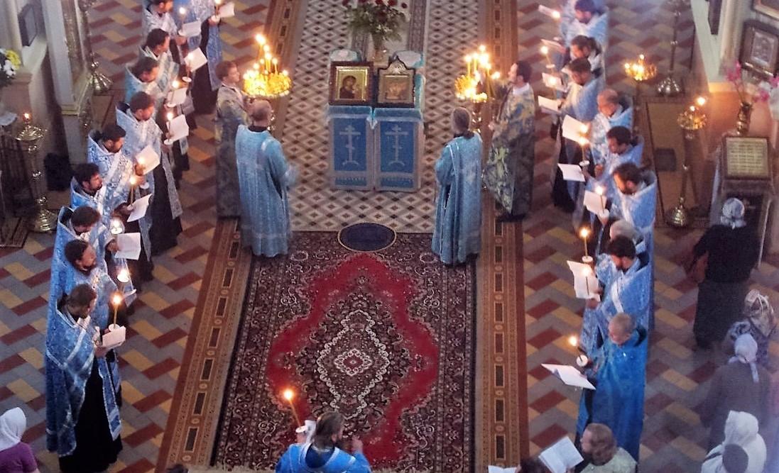 Архиерейское служение параклисиса