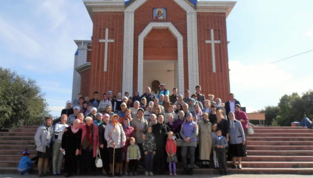 Праздник на Смоленском приходе в г. Камызяк