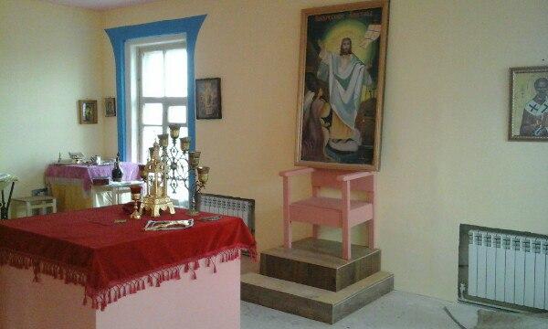 Восстановление Михаило-Архангельского храма в Зеленге