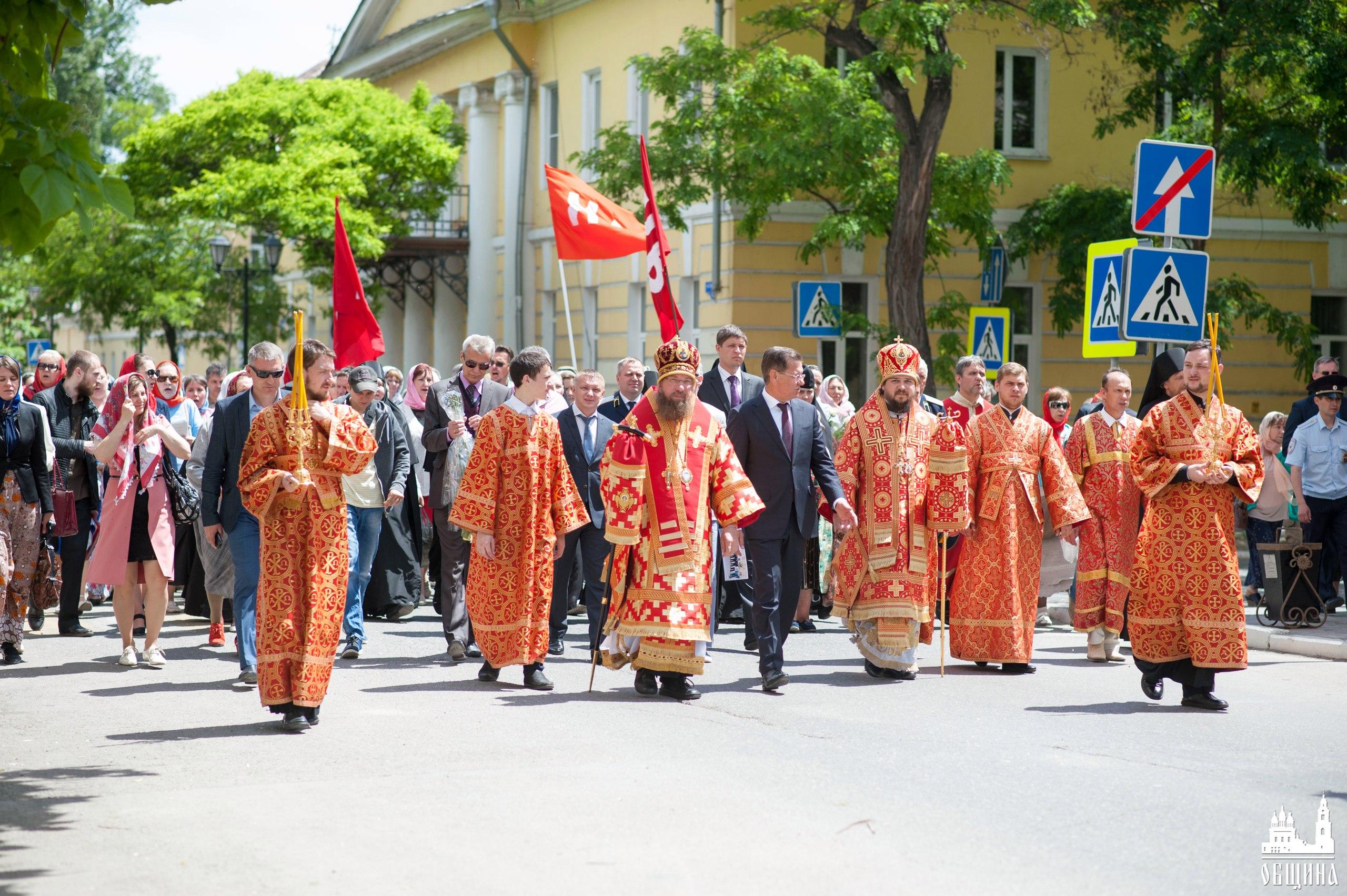 Крестный ход 24 мая 2017 года