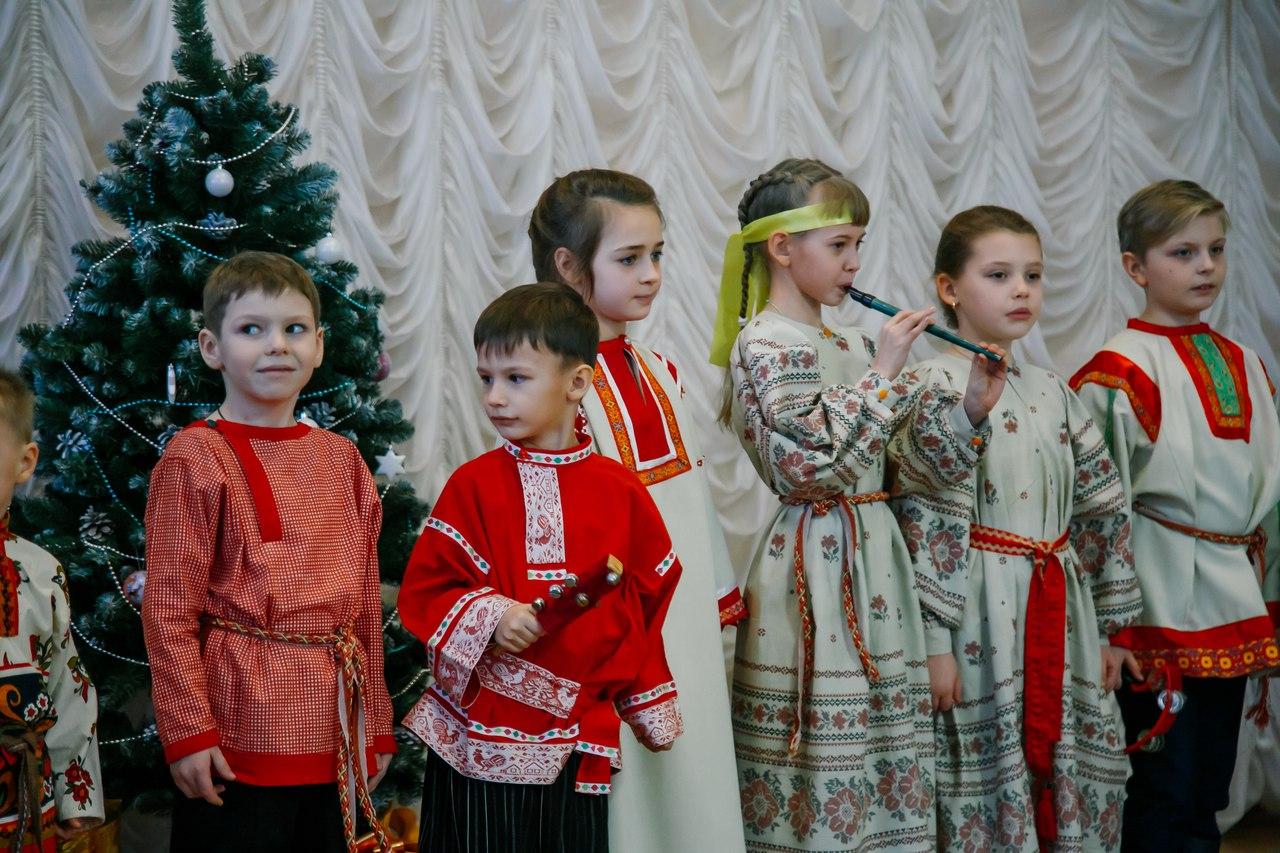 Конкурс рождественских колядок