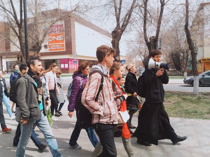 Астраханцы побывали на колокольнях городских храмов