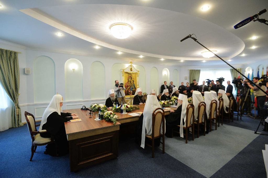 Журналы заседания Священного Синода Русской Православной Церкви от 15 октября 2018 года