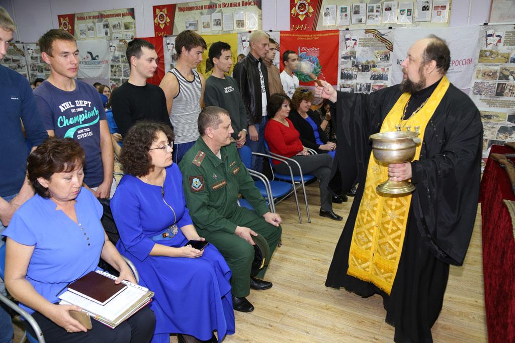День призывника в Икрянинском районе