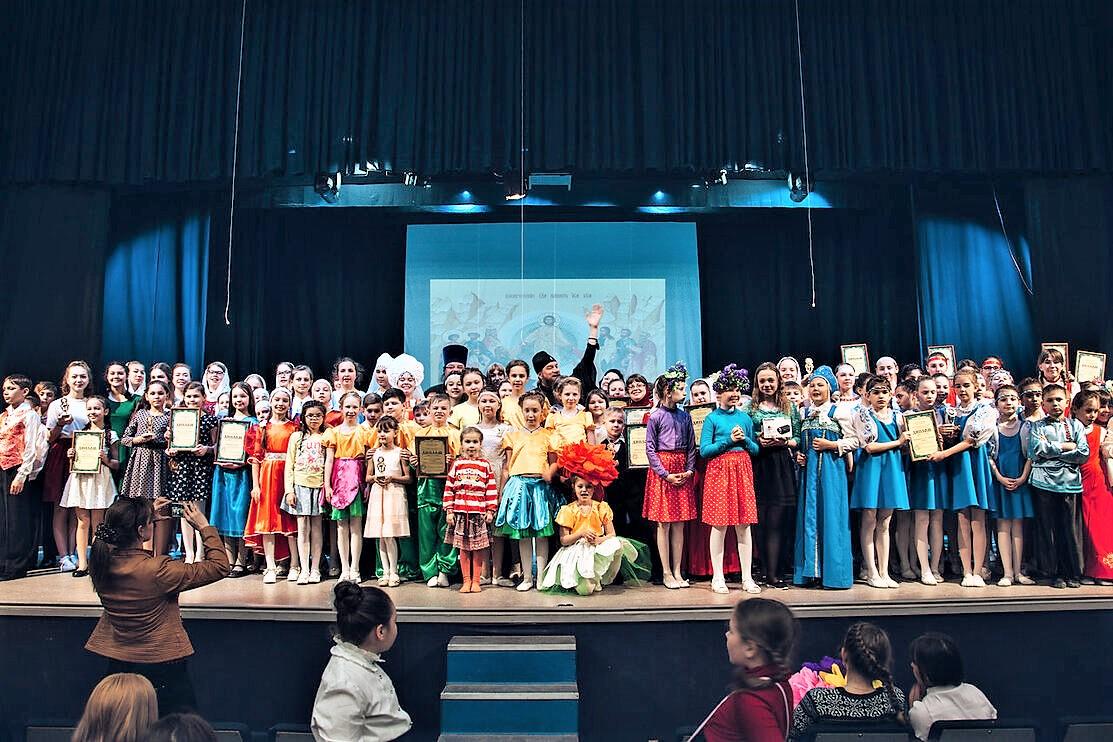 Фестиваль «Пасхальная радость» в Астраханской митрополии