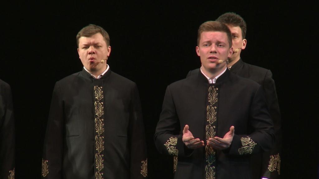 Видеосюжет ГТРК Лотос: В Астрахани выступил хор Валаамского монастыря