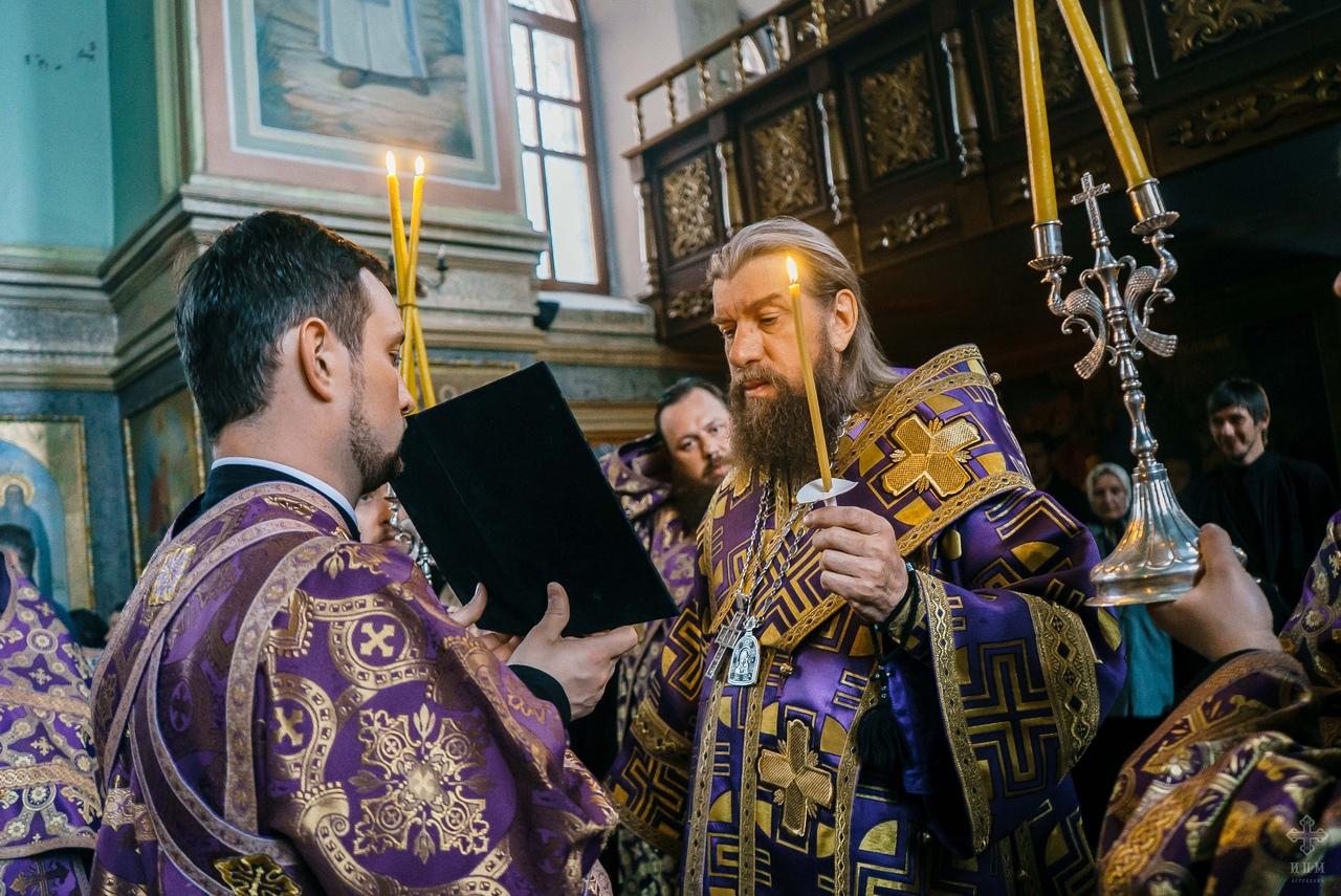 Чин пассии в Иоанно-Предтеченском монастыре
