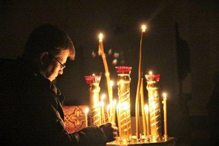Ночная Божественная литургия