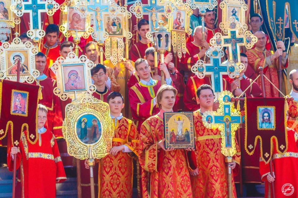 28 апреля состоится общегородской Пасхальный крестный ход