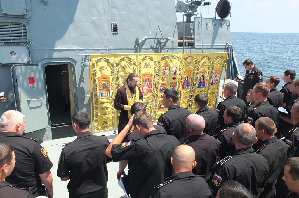Духовная поддержка моряков
