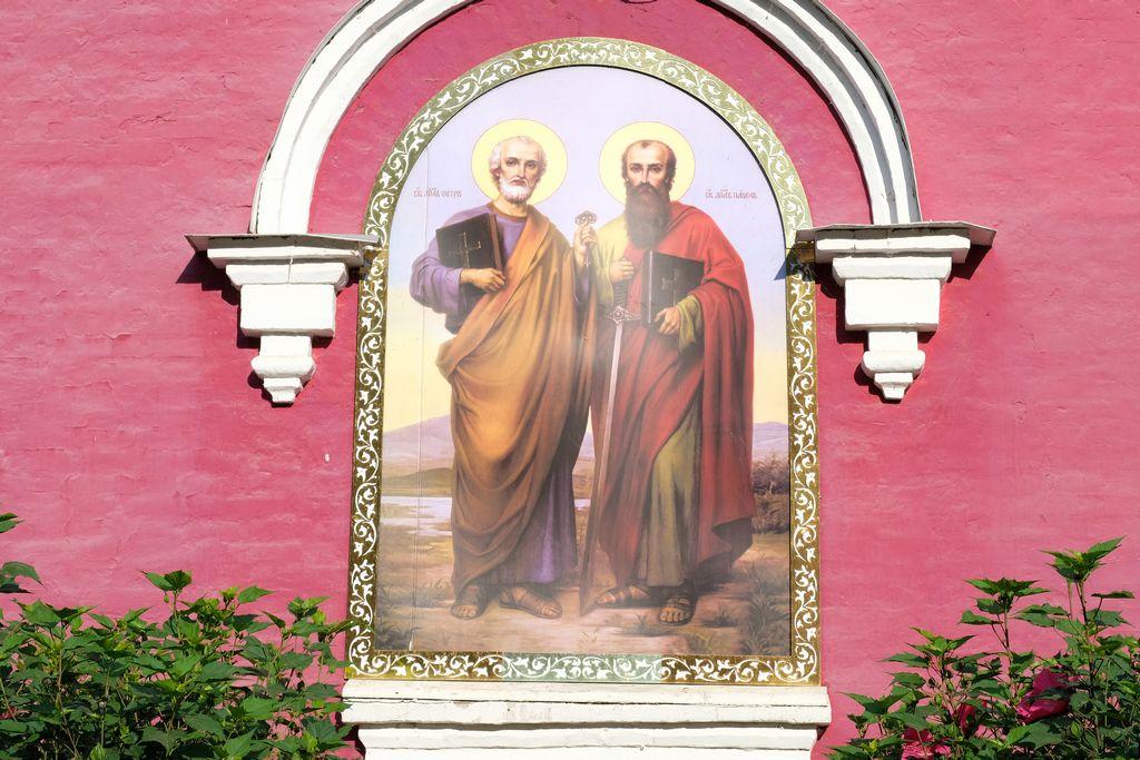 Престольный праздник в храме святых апостолов Петра и Павла