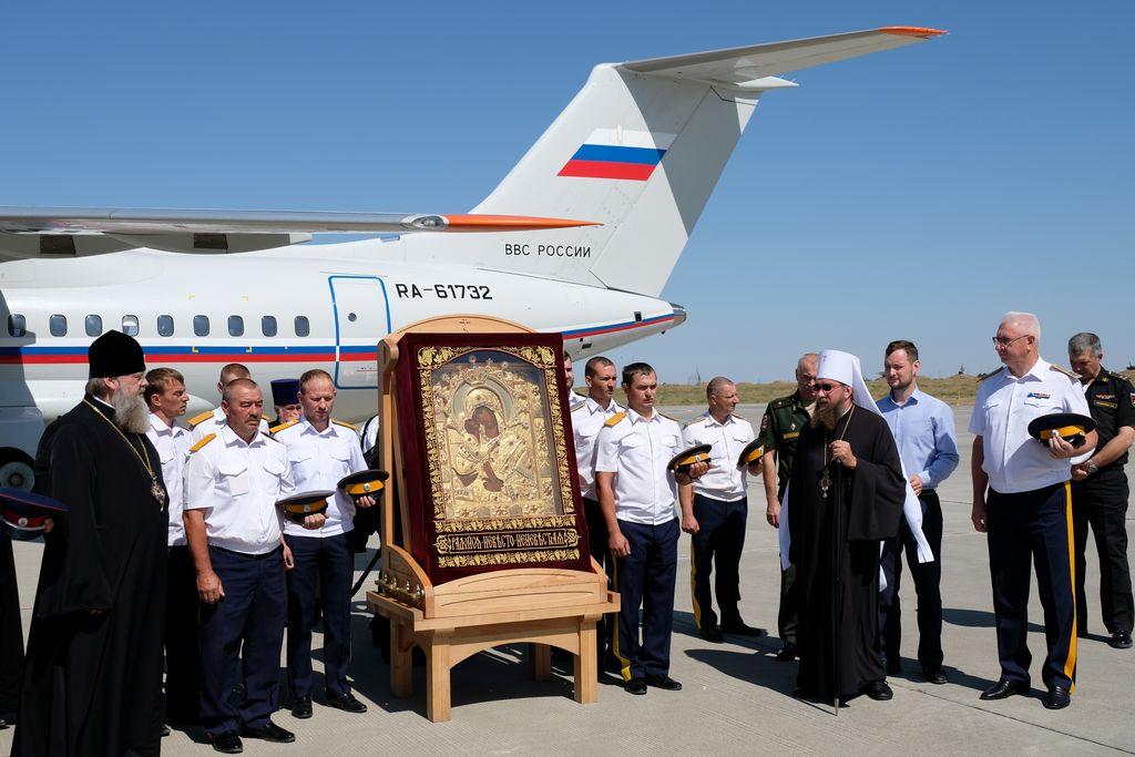 На Астраханскую землю прибыла Донская икона Божией Матери из Ростова-на-Дону