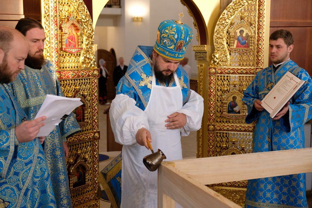 Освящение храма Донской иконы Божией Матери