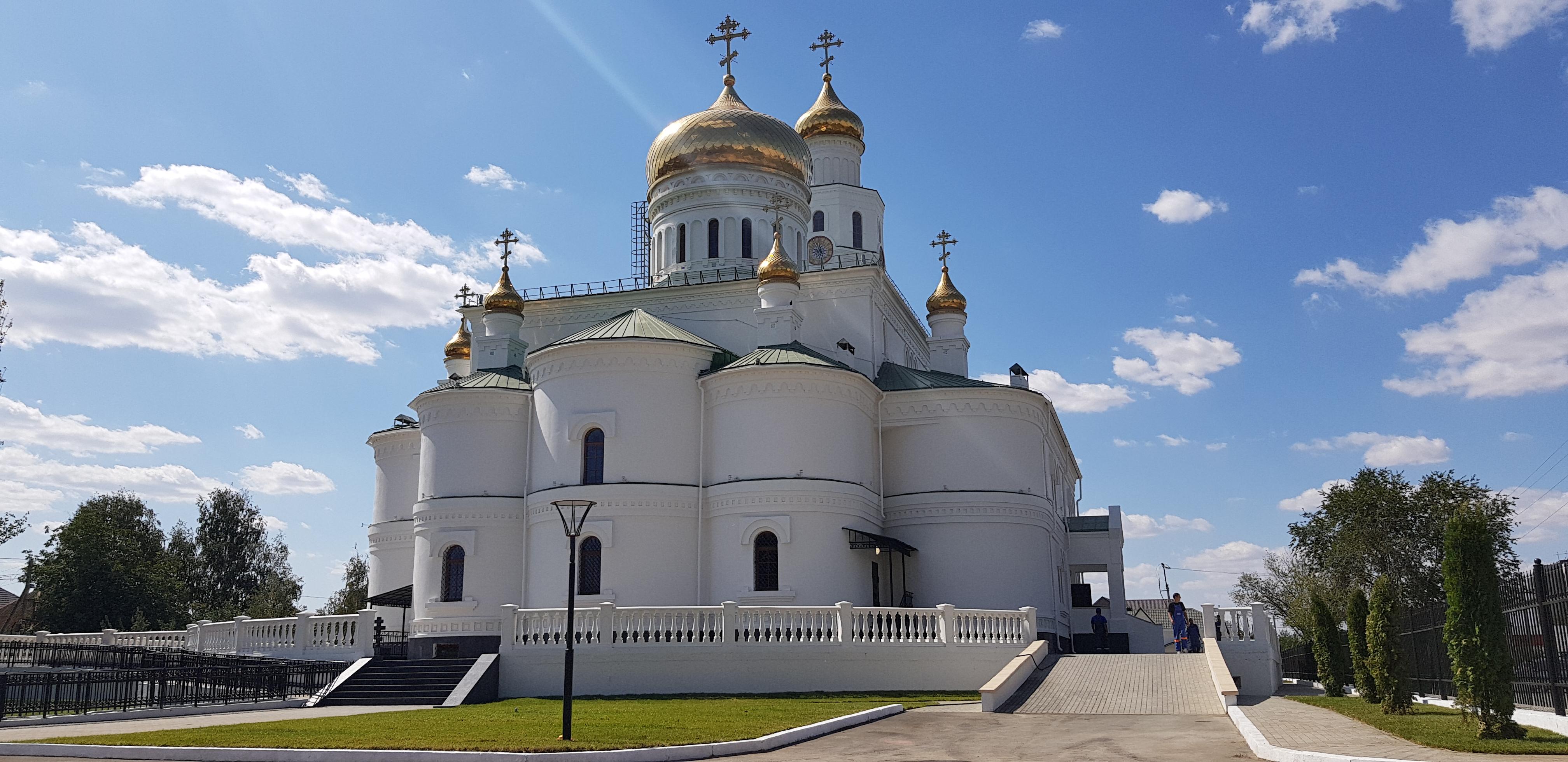 Открытие нового храма в Астрахани