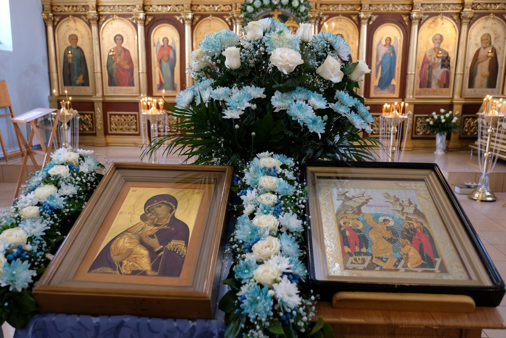 Глава Астраханской митрополии митрополит Никон посетил Ахтубинскую епархию