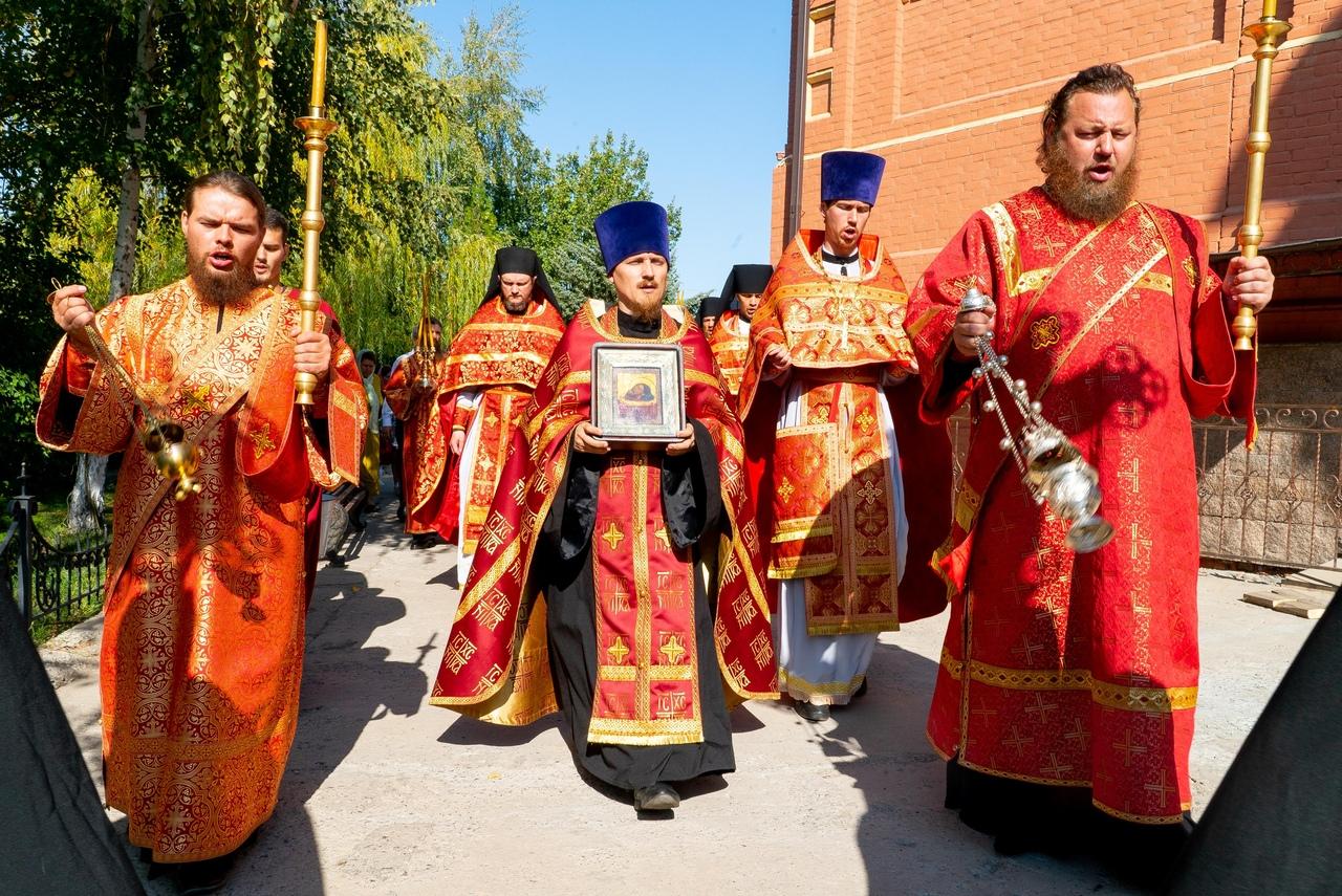 Престольный праздник в Иоанно-Предтеченском монастыре