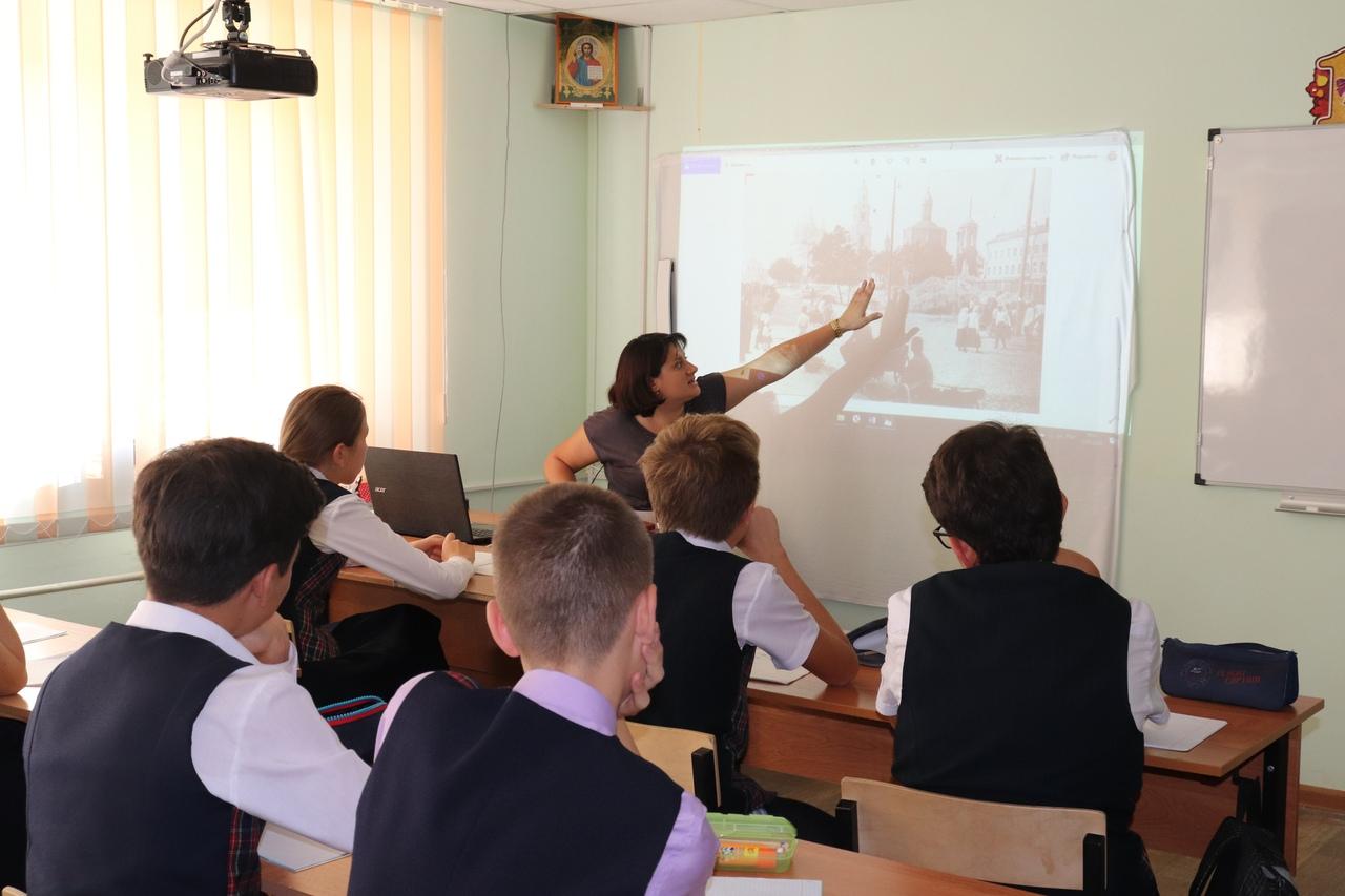 В Православной гимназии прошла лекция об исчезнувших храмах