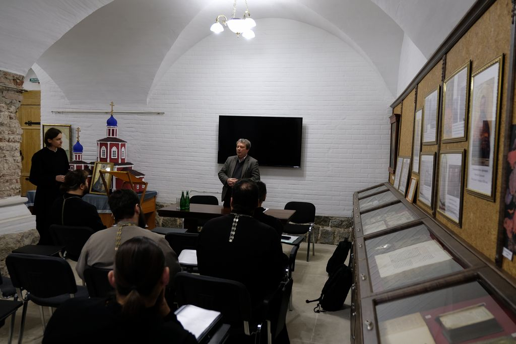 Закончились курсы повышения квалификации для священнослужителей