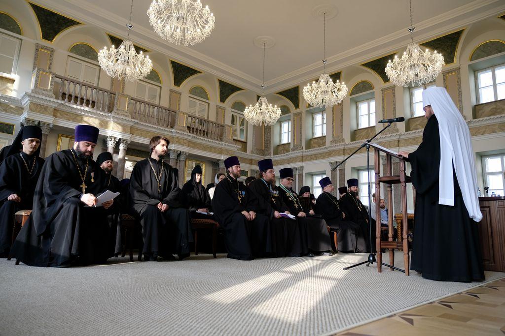 Состоялось Епархиальное собрание