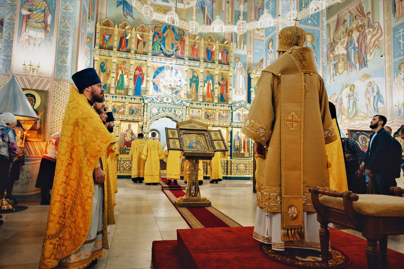 Престольный праздник в храме святого апостола Андрея