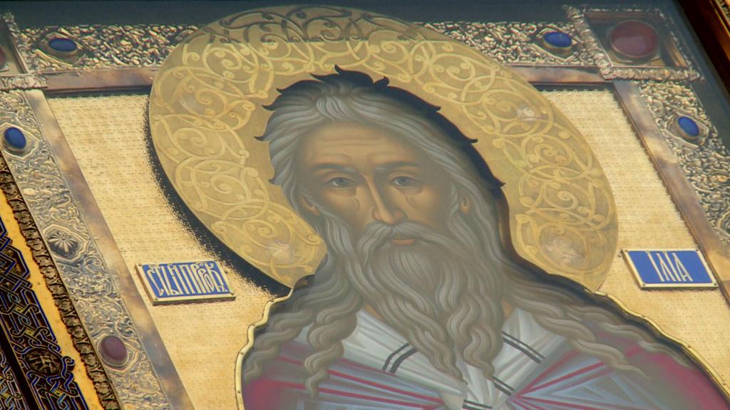 Видеосюжет ГТРК «Лотос»: В Астрахань прибыла икона Пророка Илии