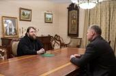 В Финансово-хозяйственном управлении обсудили вопросы реставрации Троицкого монастыря Астраханского кремля