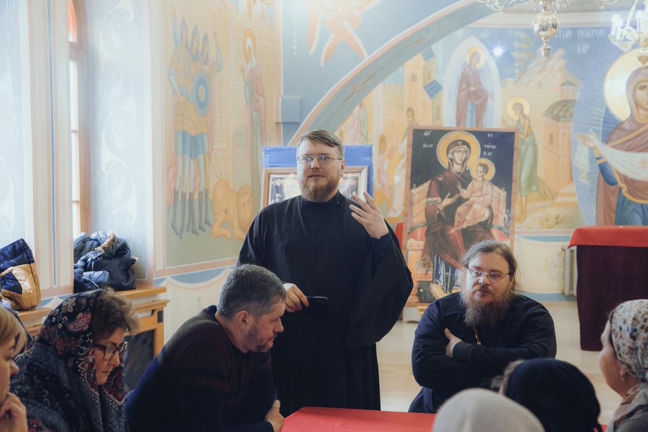 Рабочее заседание с директорами воскресных школ