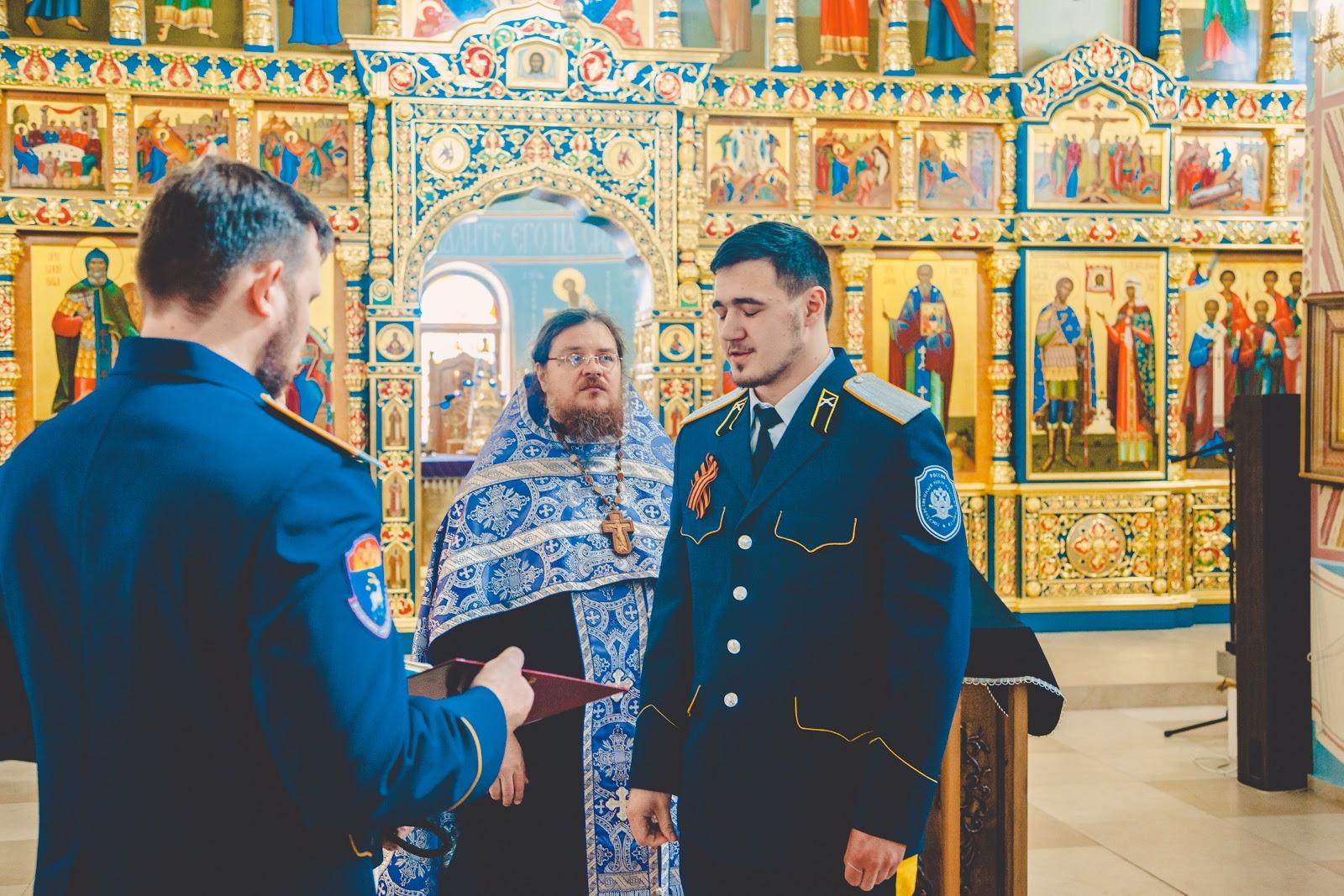 В храме Святой Живоначальной Троицы состоялось верстание казаков хутора «Андреевский»