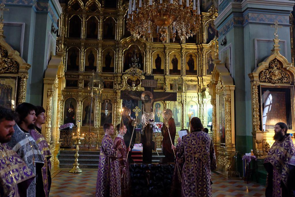 Чин пассии в Покровском соборе