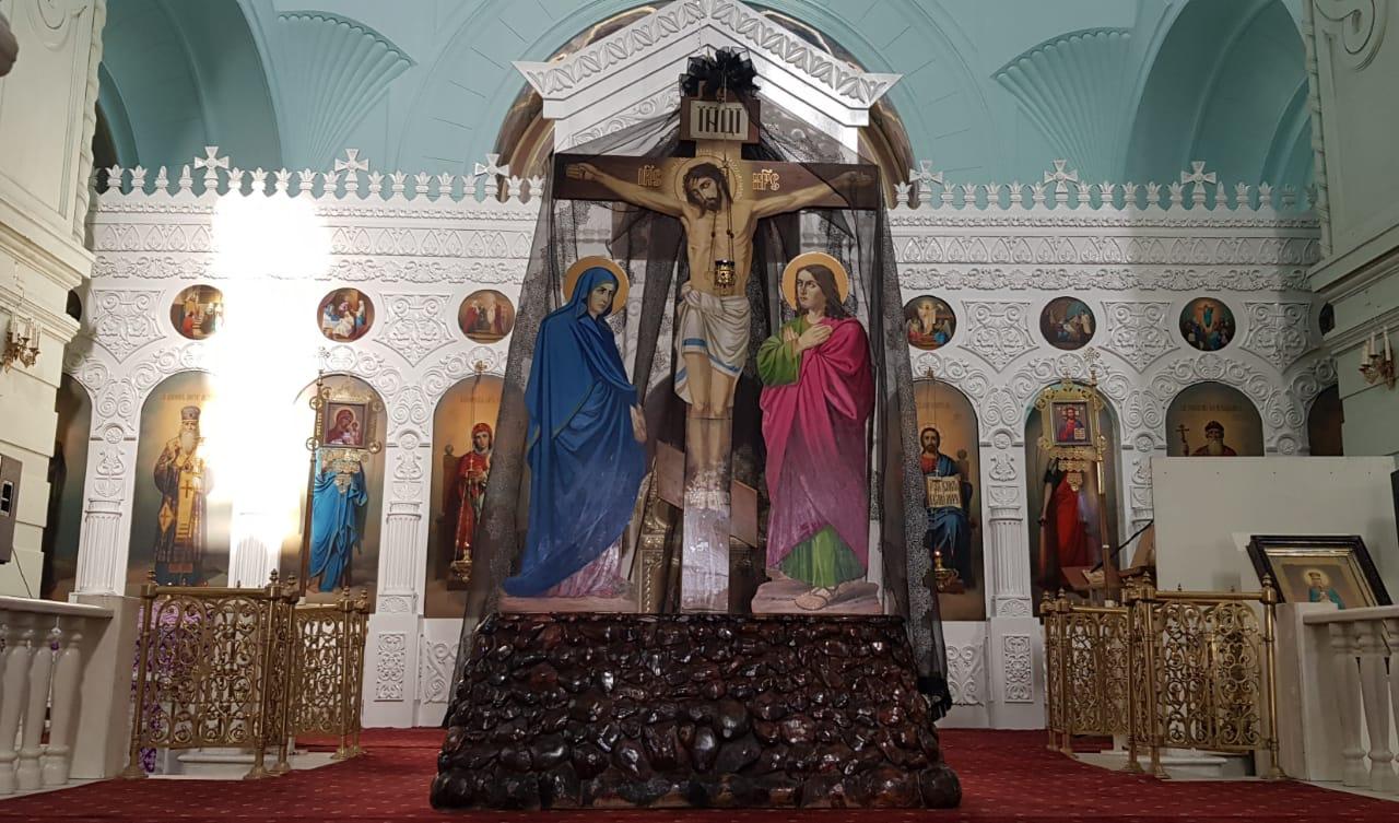 Чин пассии во Владимирском храме