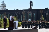В День памяти и скорби Президент России Владимир Путин и Святейший Патриарх Кирилл посетили главный храм Вооруженных сил РФ и музейный комплекс «Дорога памяти»